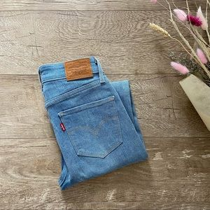 Levi's 721 High Rise Skinny Jeans size 25